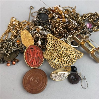 Lot 49-A COLLECTION OF COSTUME JEWELLERY