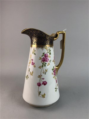 Lot 9-A LATE 19TH CENTURY EWER AND BASIN