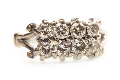 Lot 3-A DIAMOND DRESS RING