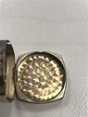 Lot 764-A LADY'S ROLEX GOLD WRIST WATCH