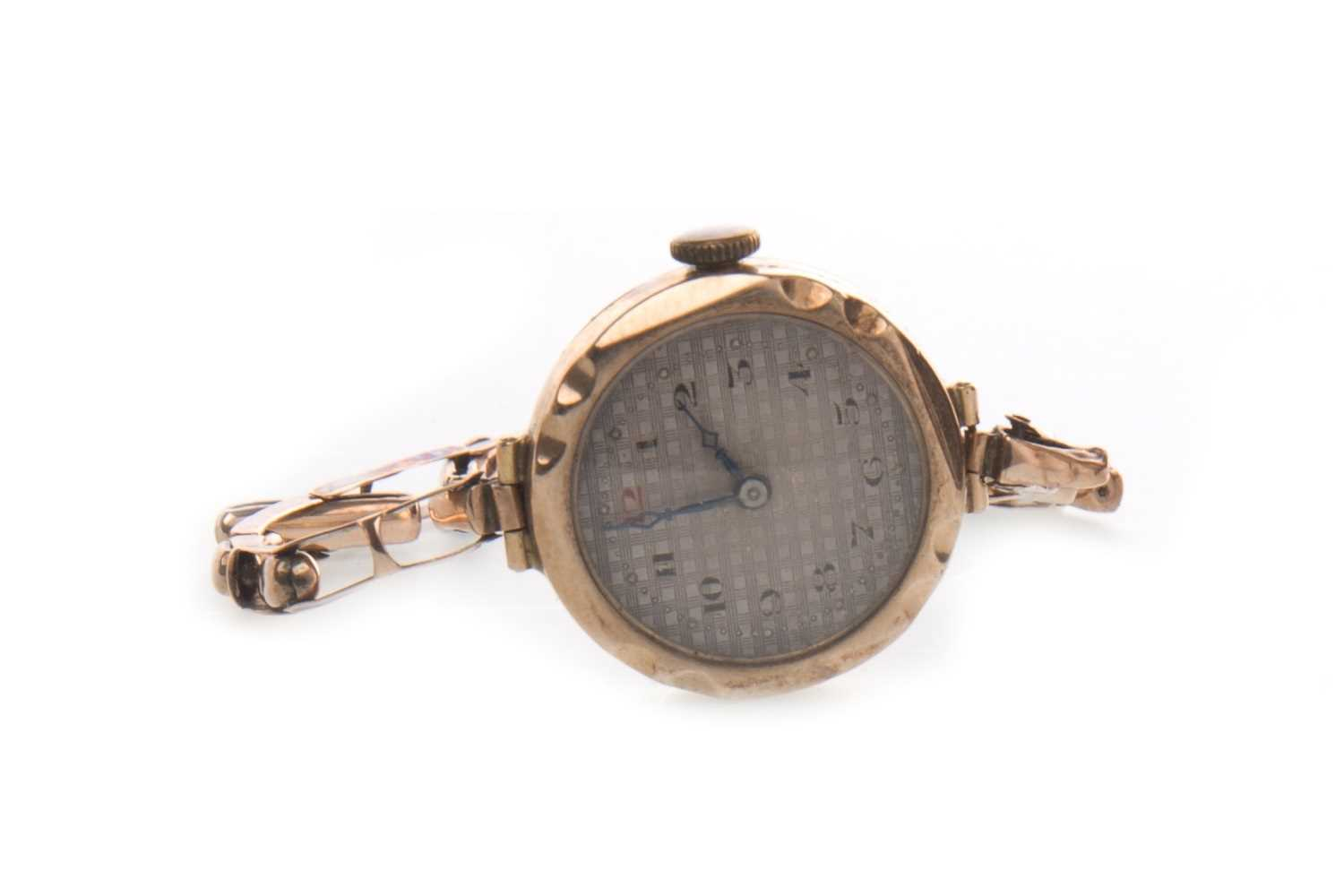 Lot 794-A LADY'S GOLD MANUAL WIND WATCH