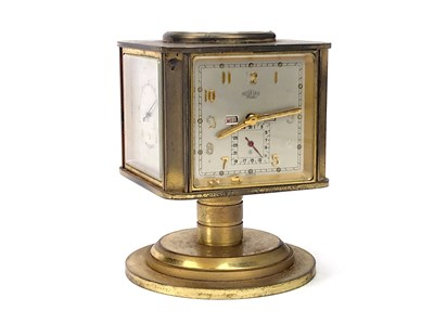 Lot 1422-AN ANGELUS DESK CLOCK COMPENDIUM