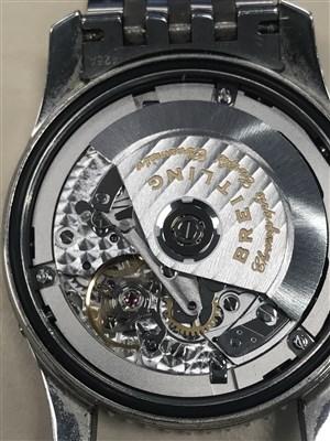 Lot 806-A GENTLEMAN'S BREITLING MONTBRILLIANT DATORA WRIST WATCH