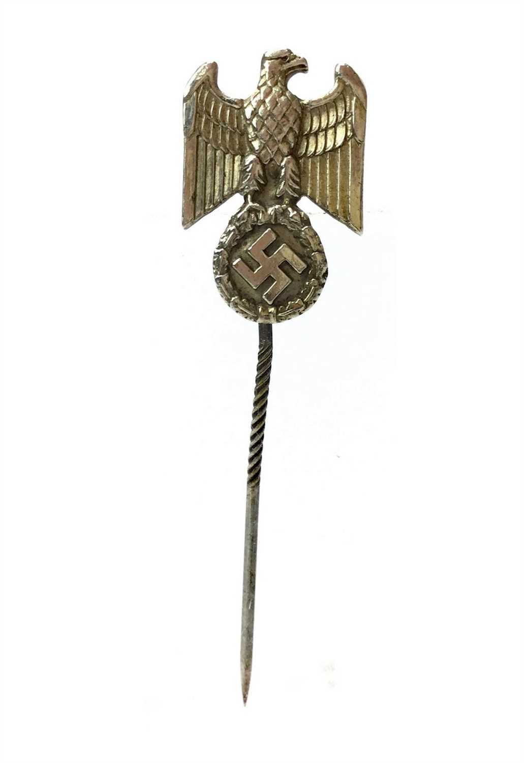 Lot 923-A THIRD REICH SILVER GOVERNMENT OFFICIALS MEMBERSHIP PIN