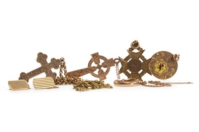 Lot 19-A COLLECTION OF GOLD AND OTHER JEWELLERY