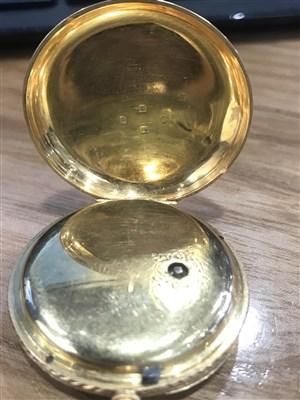 Lot 807-A GOLD POCKET WATCH