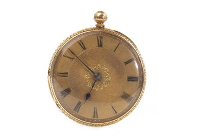Lot 807-A GOLD POCKET WATCH