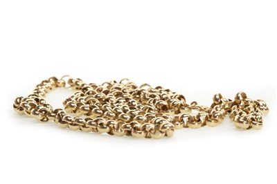 Lot 21-A GOLD BELCHER CHAIN