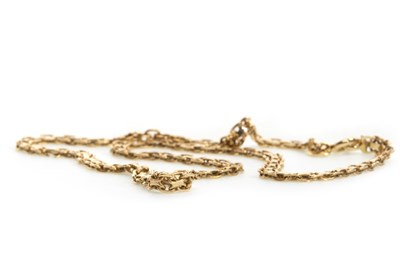 Lot 22-A GOLD NECKLACE