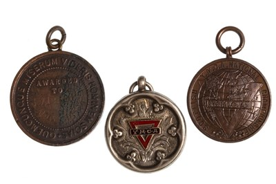 Lot 1817 - A COLLECTION OF SILVER Y.M.C.A. AND OTHER SPORTING MEDALS