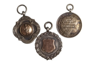 Lot 1817-A COLLECTION OF SILVER Y.M.C.A. AND OTHER SPORTING MEDALS