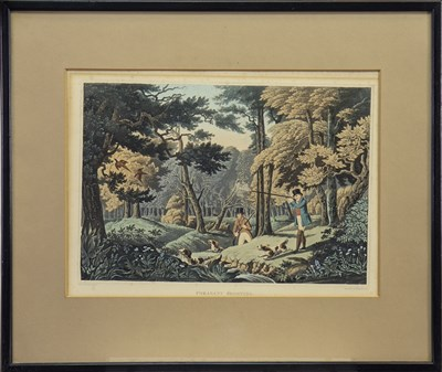 Lot 419-FOUR HUNTING SCENES BY ROBERT HAVELL JNR
