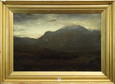 Lot 406-TWILIGHT, AN OIL BY DAVID FARQUHARSON