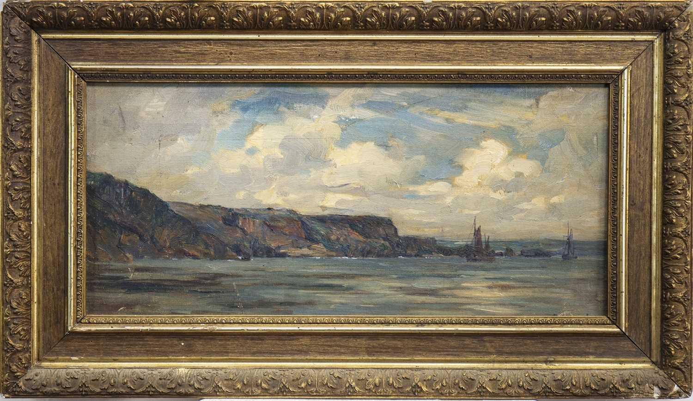 Lot 402-HOLYHEAD, ISLE OF AGLESEY, AN OIL BY KENNETH MACKENZIE
