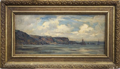 Lot 402-HOLYHEAD, ISLE OF AGLESEY, AN OIL BY KENNETH MACKENZIE