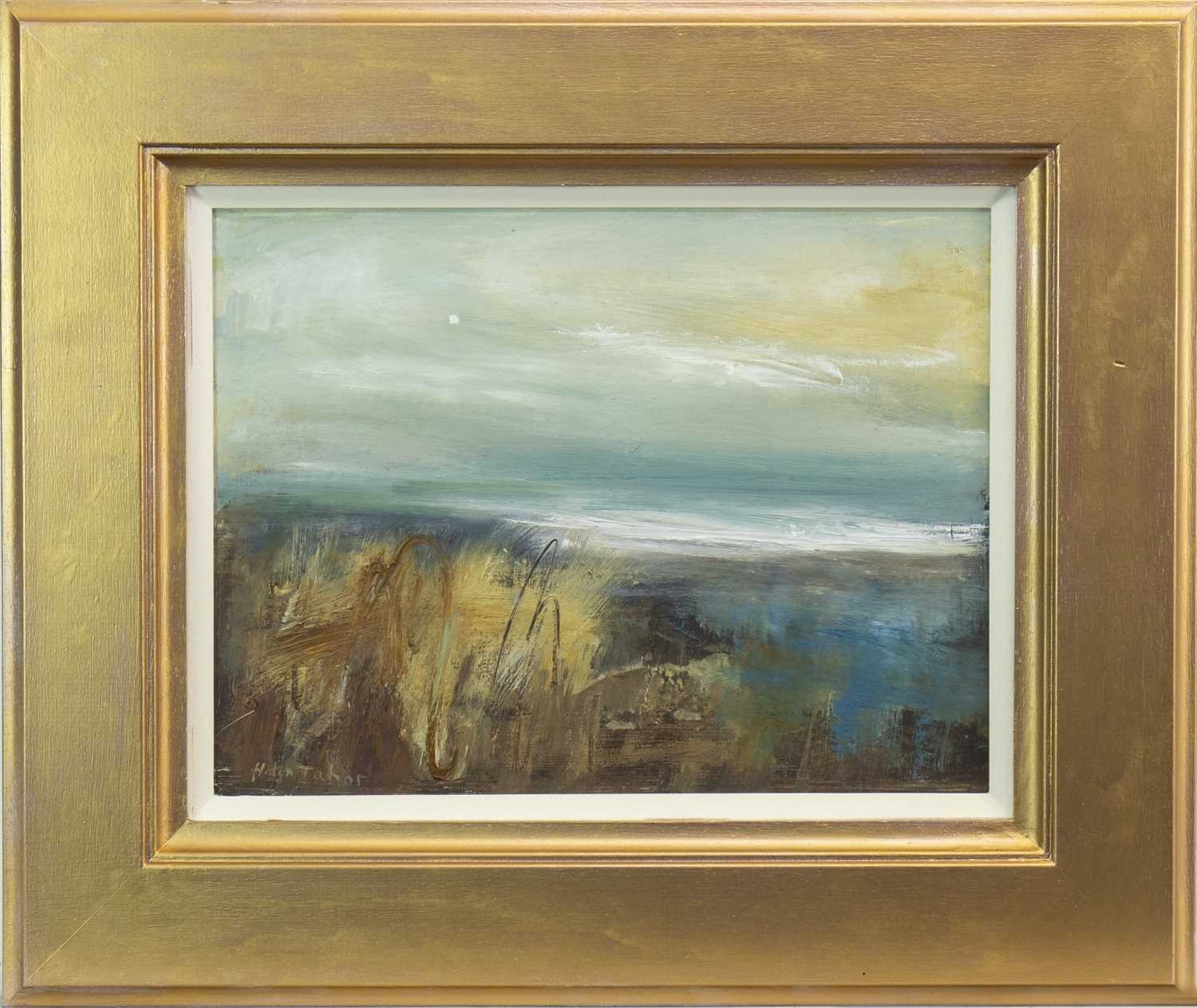 Lot 513-LANDSCAPE, AN OIL BY HELEN TABOR