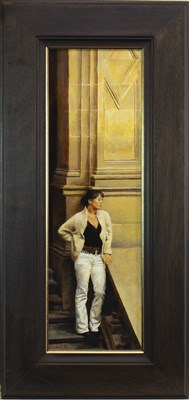 Lot 573-DIAMOND, AN OIL BY RICHARD WHINCOP