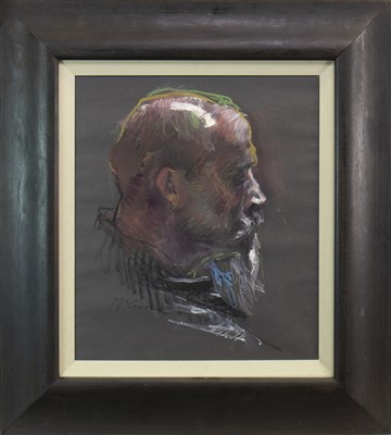 Lot 575-MICHAEL, A PASTEL BY ALAN MCGOWAN