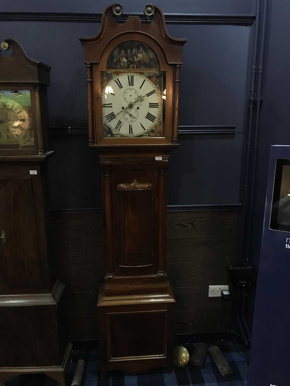 Lot 1426-19TH CENTURY LONGCASE CLOCK