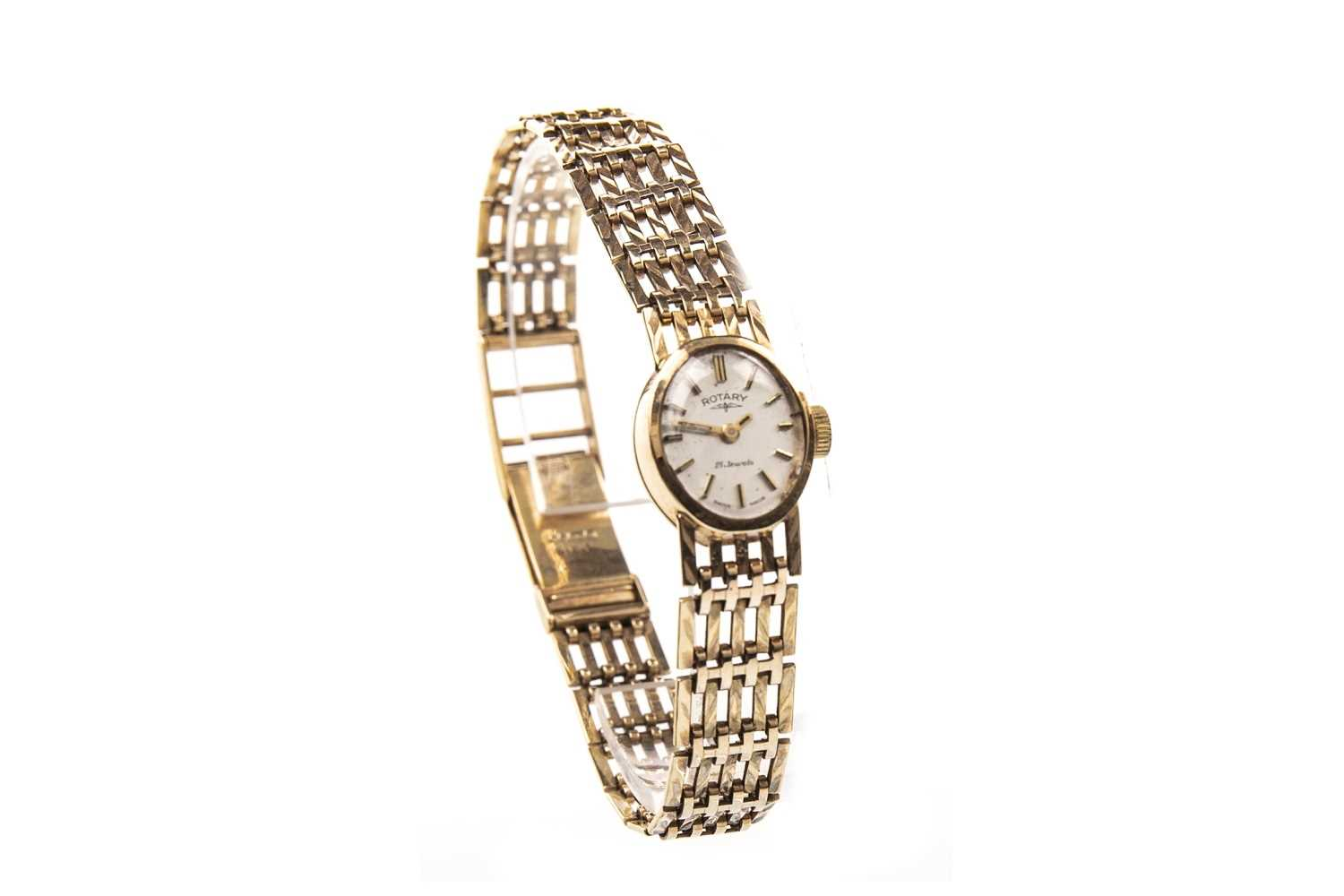 Lot 818-A LADY'S GOLD ROTARY GOLD WATCH
