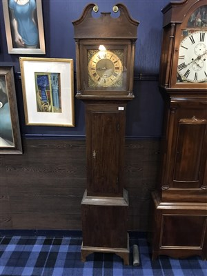 Lot 1429-A LATE GEORGIAN OAK LONGCASE CLOCK BY SAMUEL HORTON