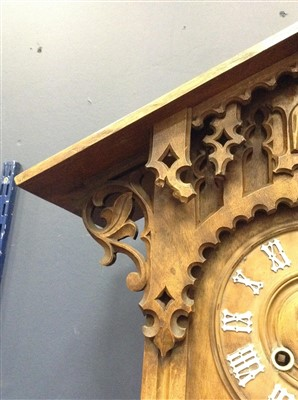 Lot 1430-A LATE 19TH CENTURY BLACK FOREST CUCKOO CLOCK