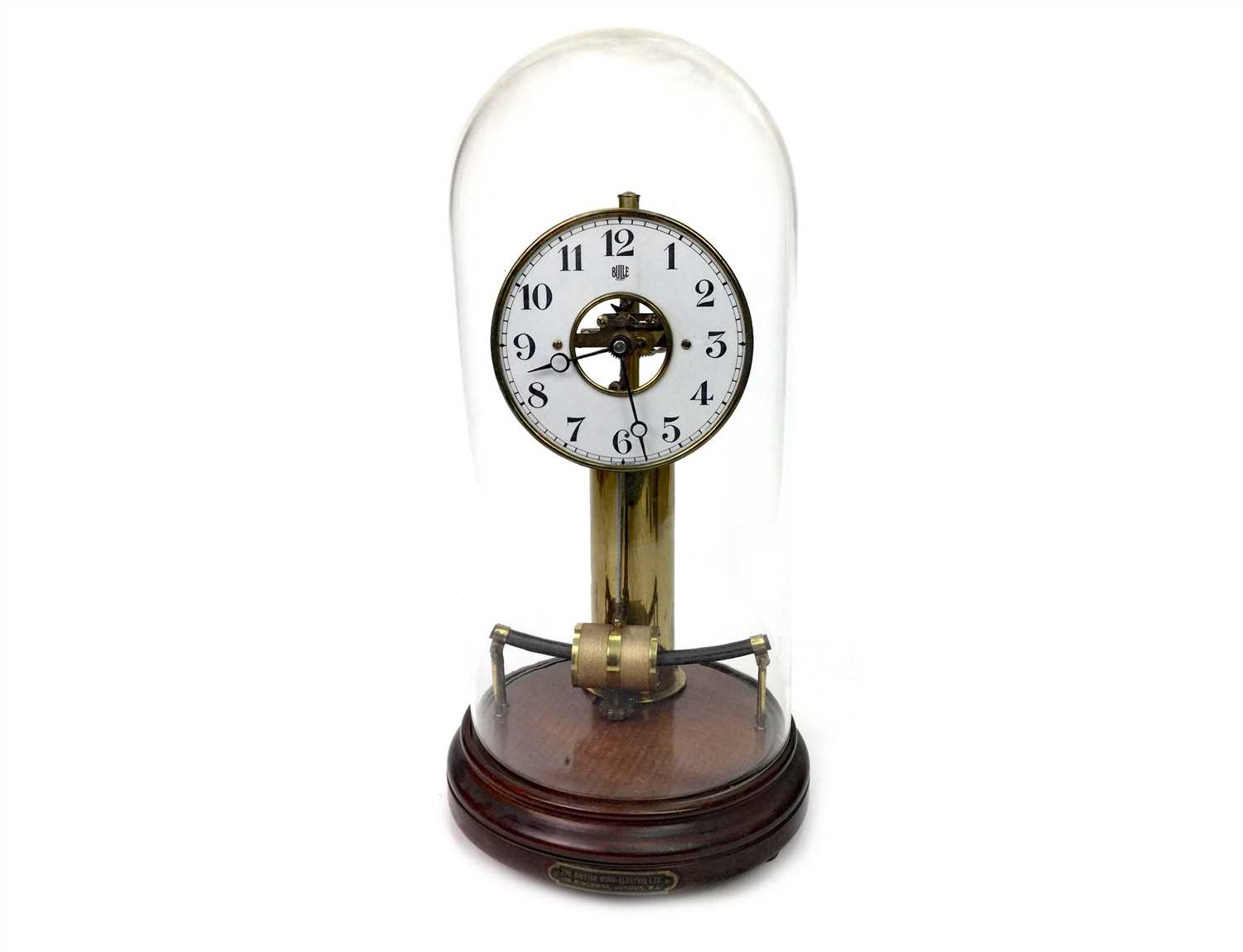 Lot 1431-A BULLE ELECTRO-MAGNETIC MANTEL CLOCK