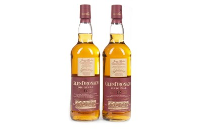 Lot 318-TWO BOTTLES OF GLENDRONACH AGED 12 YEARS