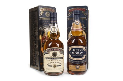 Lot 321-GLEN MORAY AGED 16 YEARS AND AGED 15 YEARS