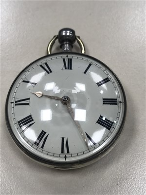 Lot 820-AN EARLY 19TH CENTURY POCKET WATCH