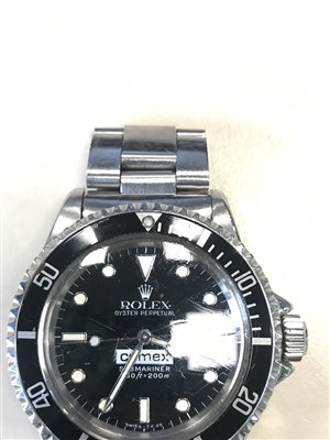 Lot 754-A VERY RARE ROLEX 5514 COMEX WRIST WATCH