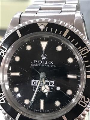 Lot 754-A VERY RARE ROLEX 5514 COMEX WRIST WATCH
