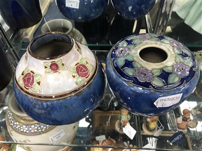 Lot 6-TWO ROYAL DOULTON VASES