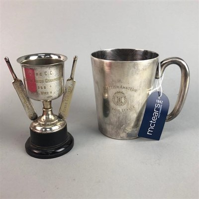 Lot 18-A LOT OF TROPHIES AND BADGES