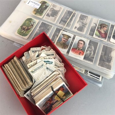 Lot 27-A COLLECTION OF CIGARETTE CARDS