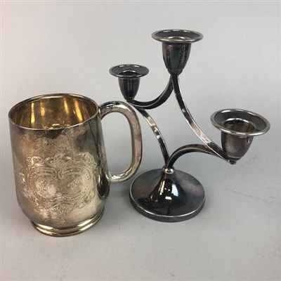 Lot 43-A LOT OF CAITHNESS GLASS, SWAROVSKI CRYSTAL AND SILVER PLATE