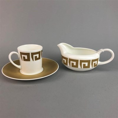 Lot 45-A WEDGWOOD SUSIE COOPER DESIGN DINNER AND TEA SERVICE