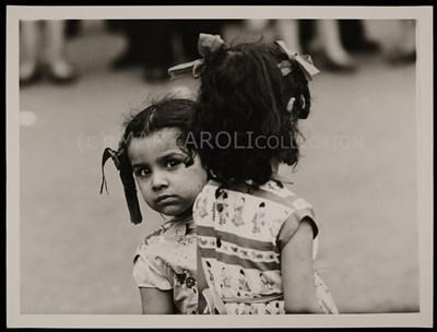 Lot 2-CHILDREN, GEORGE SQUARE BY OSCAR MARZAROLI