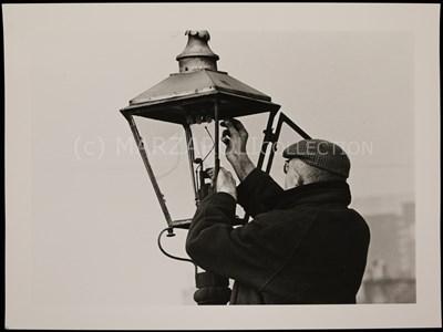 Lot 9-LAMPLIGHTER, GORBALS BY OSCAR MARZAROLI