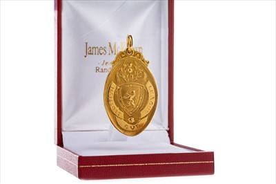 Lot 1709-A SCOTTISH LEAGUE CUP GOLD MEDAL 1957 WON BY CELTIC F.C.