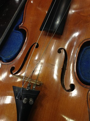Lot 1436-A ROSEWOOD VIOLIN BY HAWKES & SON