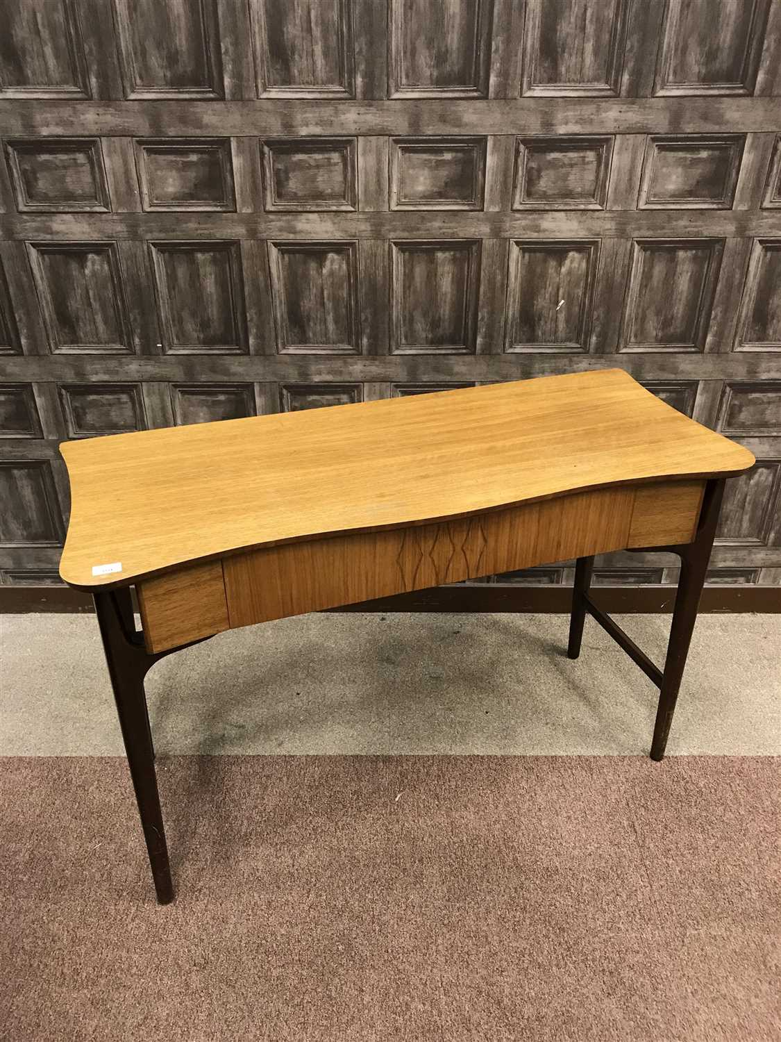 Lot 1534-AN EVEREST TEAK HALL TABLE