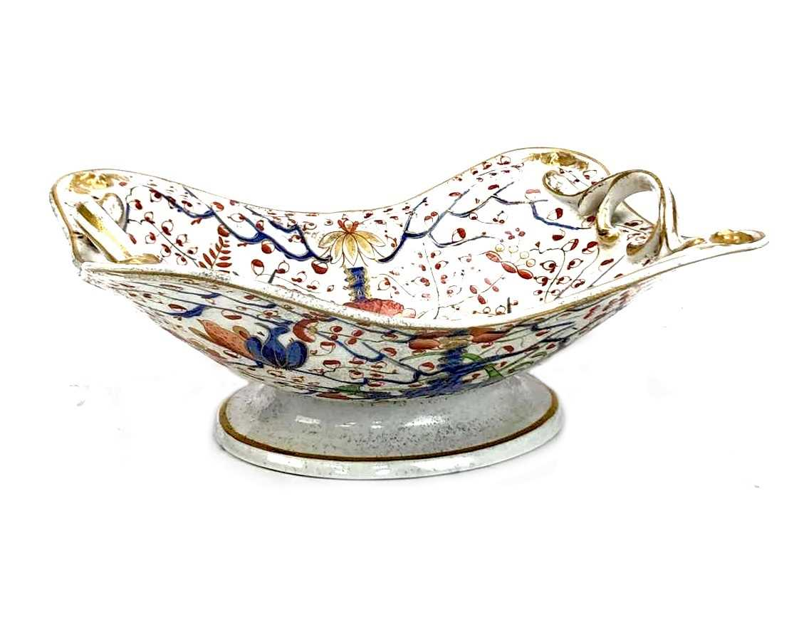 Lot 1205-AN EARLY 19TH CENTURY DERBY COMPORT