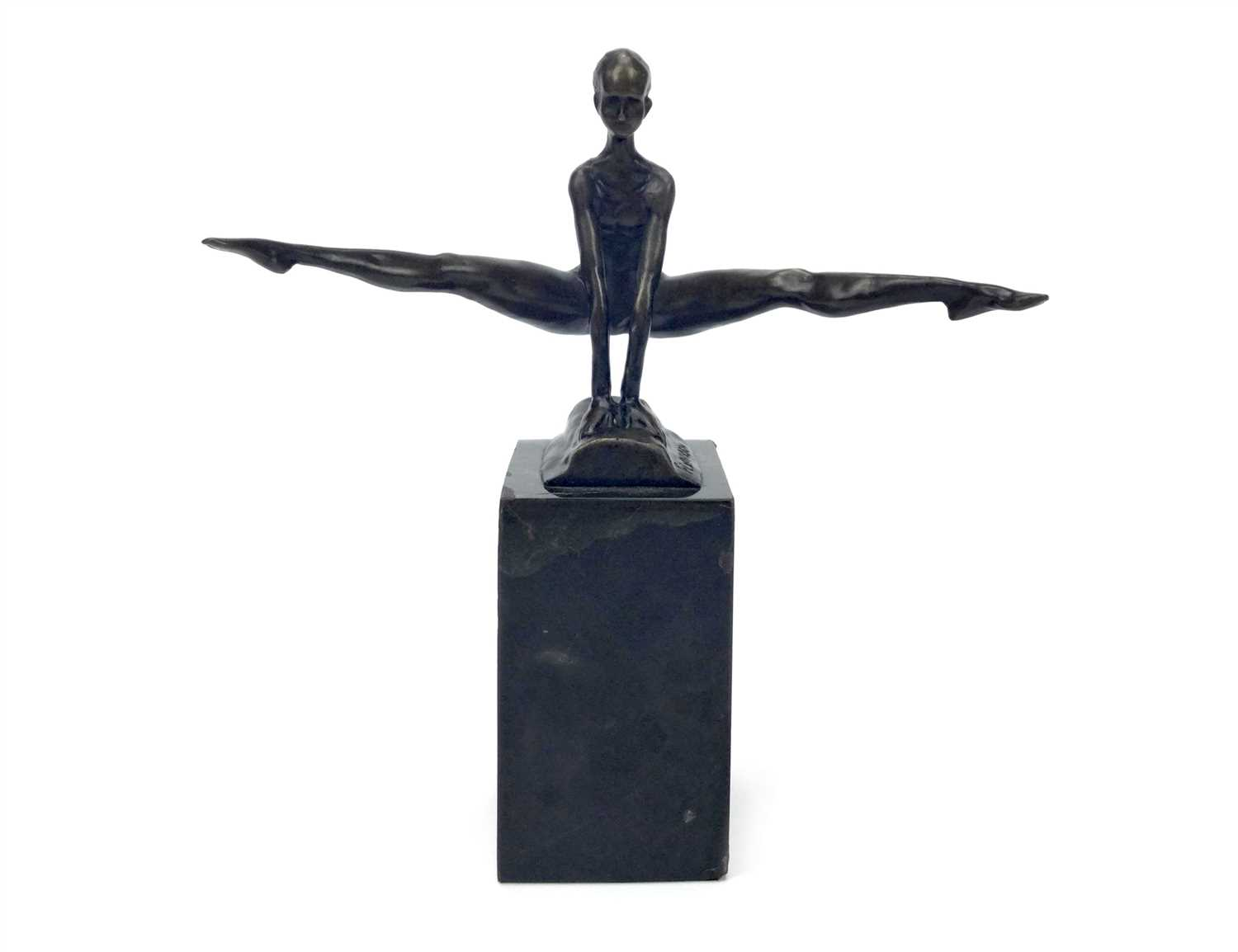 Lot 1538-AFTER PIERRE FELIX FIX-MASSEAU BRONZE GYMNAST