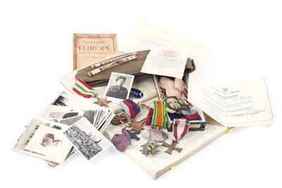 Lot 1540-A WWII ARCHIVE RELATING TO WLADISLAW SIEWIERNTOCHA