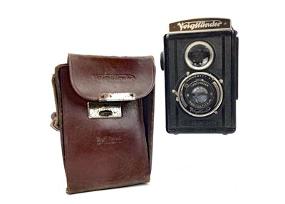 Lot 1451-A VOITLANDER BRILLIANT TWIN LENS REFLEX CAMERA