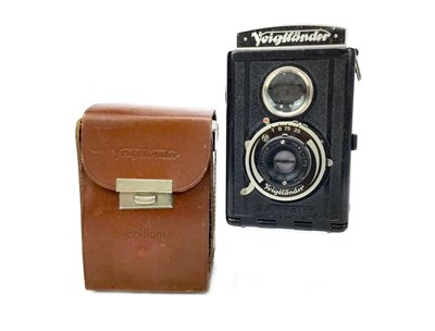 Lot 1452-A VOITLANDER BRILLIANT TWIN LENS REFLEX CAMERA