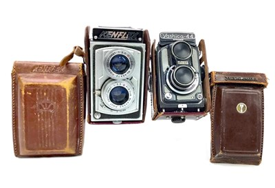 Lot 1454-A YASHICA-44 TWIN LENS REFLEX CAMERA