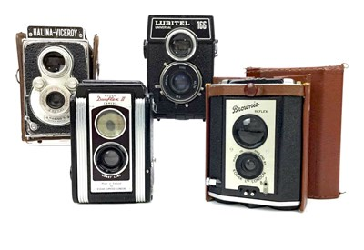 Lot 1456-A LUBITEL UNIVERSAL 166 TWIN LENS REFLEX CAMERA