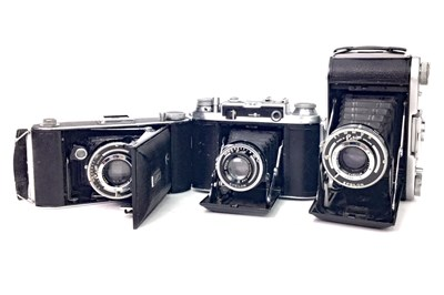 Lot 1459-AN ENSIGN RANGER SPECIAL BELLOWS ACTION FOLDING CAMERA